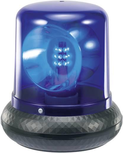 LED-es rendőrvillogó, kék, 230 V