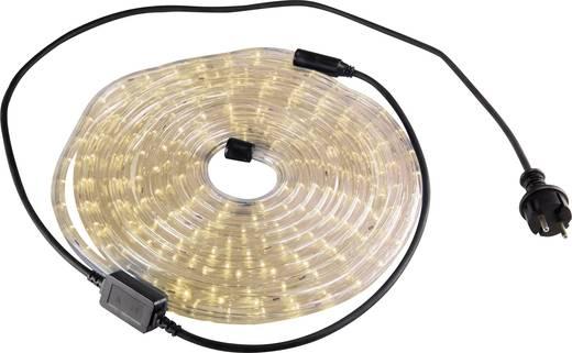 LED-es fénytömlő, fénykábel, fénykígyó, 13 mm x 6 m, melegfehér, 230V IP44, Basetech