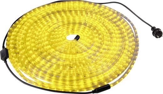 LED fénykígyó, sárga, 20 m