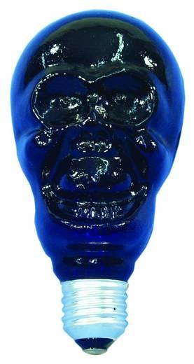 Feketefény-, UV halálfejes fényforrás, 230V/75W E27 80mm, Omnilux 89510105E27