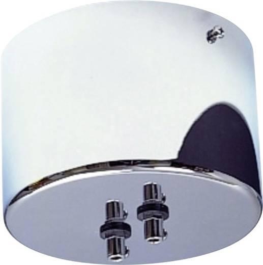 Gyűrűs vasmagos biztonsági transzformátor kisfeszültségű halogén sínrendszerhez, 200 VA, króm, SLV 138822