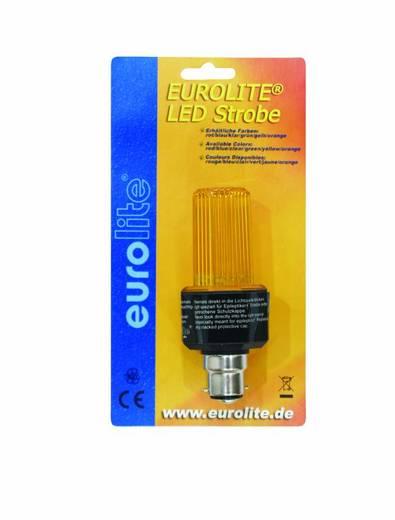 LED-es stroboszkóp villogó, sárga, B22, Eurolite