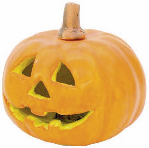 Halloween tök LED-es világítással, több színű