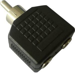 Átalakító, RCA dugóról 2 db 3,5 mm-es jack hüvelyre, SpeaKa (SP-2380204) SpeaKa Professional