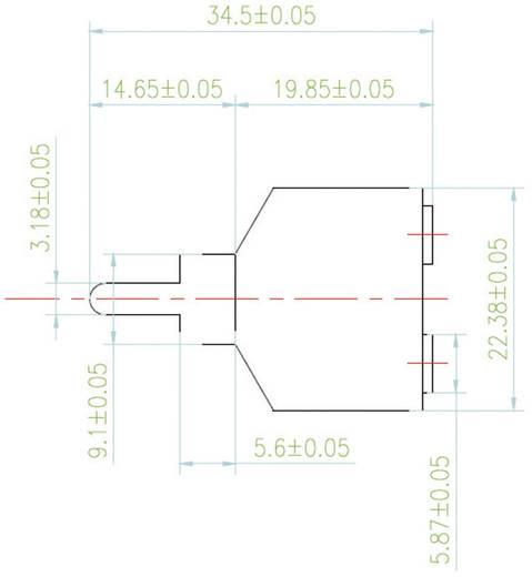 Átalakító, RCA dugóról 2 db 3,5 mm-es jack hüvelyre, SpeaKa