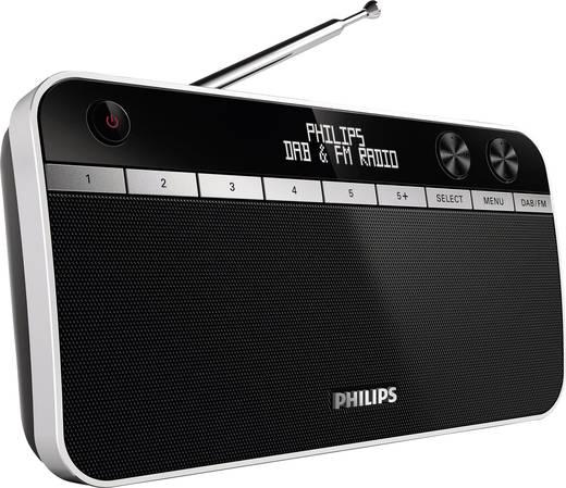 DAB+ rádió, fekete, Philips AE5250