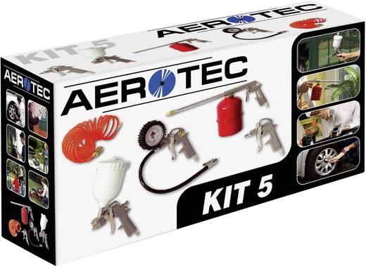 Sűrített levegő készlet, 5 részes Aerotec 2005840