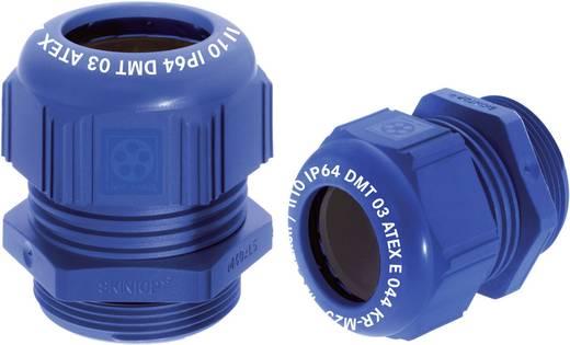 Kábel tömszelence, SKINTOP® K-M16, kék