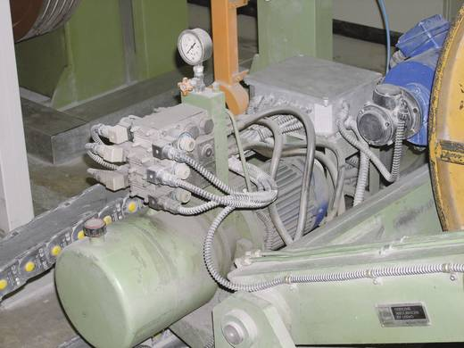 Kábelcsatorna belső Ø: 22 mm, 10 m, ezüstszürke (RAL 7001) SILVYN EL 22x27,7 SGY LappKabel