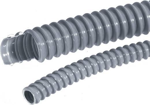 Kábelcsatorna belső Ø: 25 mm, 2,5 m, ezüstszürke (RAL 7001) SILVYN EL 25x30,6 SGY LappKabel