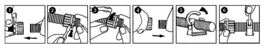 FPAS kábelcső 10 LappKabel, tartalom: méteráru