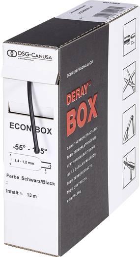 DERAY® zsugorcső-boksz 3:1, 175 mm, fekete, 3 m