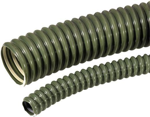 Kábelcsatorna belső Ø: 12 mm, 2,5 m, zöld SILVYN ELÖ 12x16,6 GN LappKabel