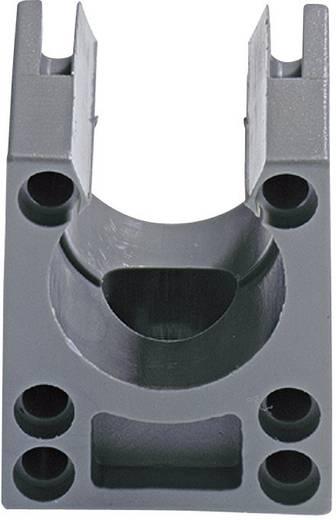 Kábel védőtömlő tartó, SILVYN® KLICK-S BK KLICK-S 7 GY LappKabel, tartalom: 1 db