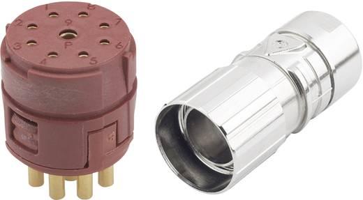 EPIC® dugaszos csatlakozó M23 8+1pólusú, készletben (2 mm Kontakt) 20 A EPIC® KIT M23 D6 8+1 PÓL ANYA LappKabel