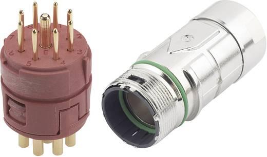EPIC® dugaszos csatlakozó M23 8+1pólusú, készletben (2 mm Kontakt) 20 A EPIC® KIT M23 F6 8+1-PÓL APA LappKabel