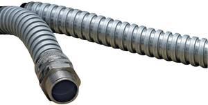 Acél védőtömlő Fémes 6.80 mm HellermannTyton 166-30100 SC10 méteráru (166-30100) HellermannTyton