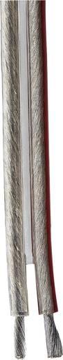 """Hangszórókábel, """"Silver Class"""" 2 x 4 mm² átlátszó, méteráru, Hama"""