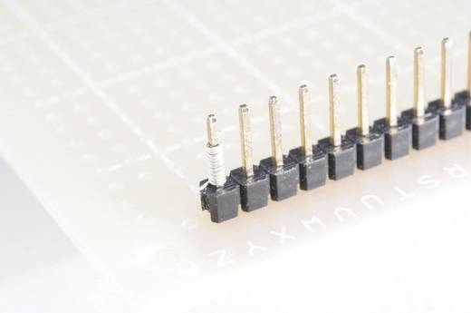 Tru Components Wire-Wrap vezeték 1x0,08mm², sárga, 15m