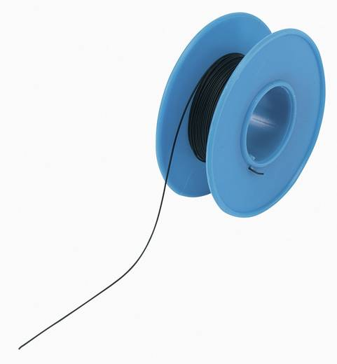 Conrad Wire-Wrap vezeték 1x0,03mm², fekete, 15m