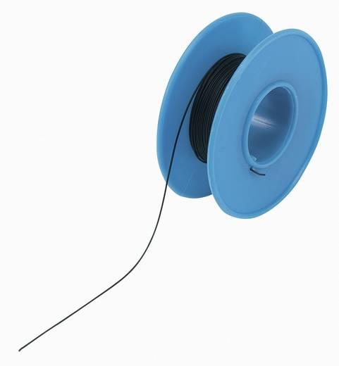 Tru Components Wire-Wrap vezeték 1x0,05mm², fekete, 15m