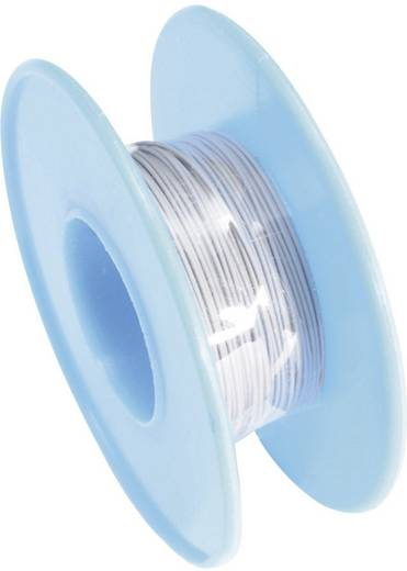 Tru Components Wire-Wrap vezeték 1x0,03mm², szürke, 15m