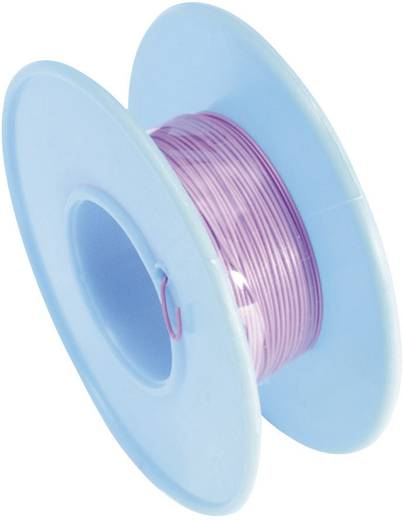 Tru Components Wire-Wrap vezeték 1x0,02mm², lila, 15m