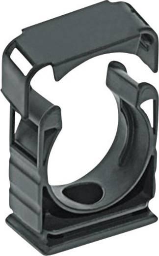 Tömlőtartó fedéllel, SILVYN® KLICK HG SILVYN KLICK HG 11/15,8 BK LappKabel, tartalom: 1 db