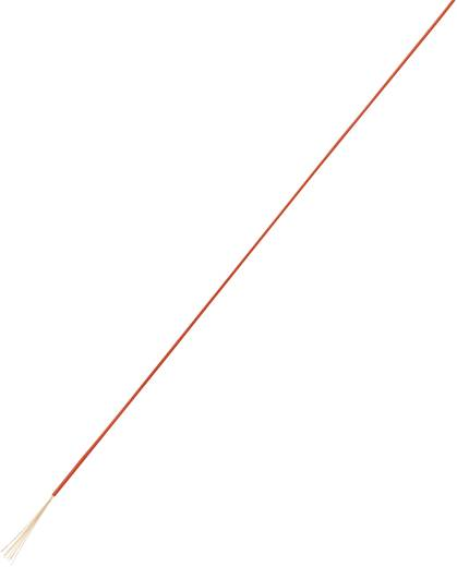 Nagyon hajlékony, egyeres huzal LiFY 1 x 1,5 mm² piros, Conrad 93030c210 100 m