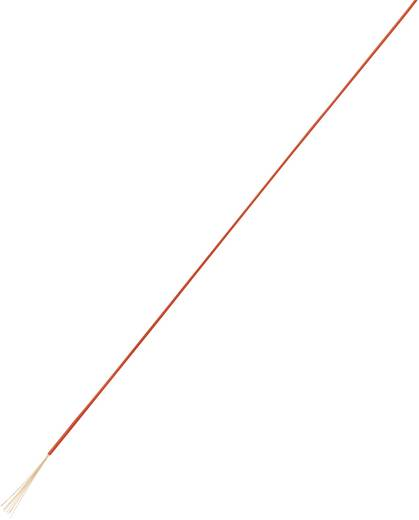 Nagyon hajlékony, egyeres huzal LiFY 1 x 1,5 mm² piros, Tru Components 93030c101 10 m