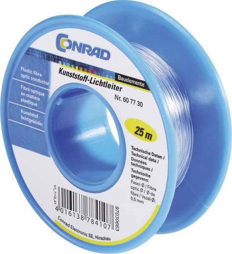 Műanyag optikai kábel, 25m, Conrad