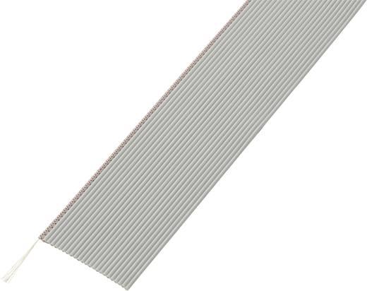 Lapos szalagkábel, RM 1,27, kiszerelt Pólusszám: 24 AWG 32 Szürke Tru Components