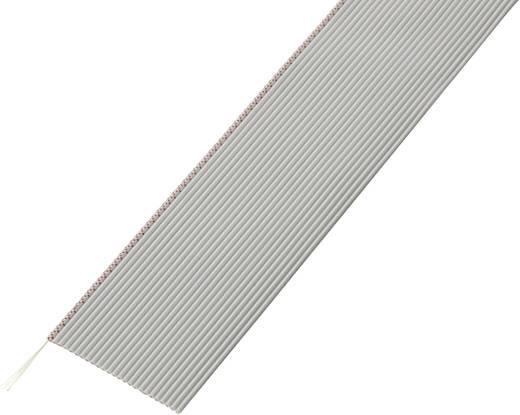 Lapos szalagkábel, RM 1,27, kiszerelt Pólusszám: 25 AWG 32 Szürke Conrad