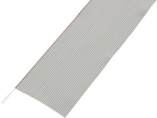 Lapos szalagkábel, RM 1,27, kiszerelt Pólusszám: 26 AWG 32 Szürke Tru Components