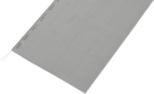 Lapos szalagkábel, RM 1,27, kiszerelt Pólusszám: 64 AWG 32 Szürke Conrad