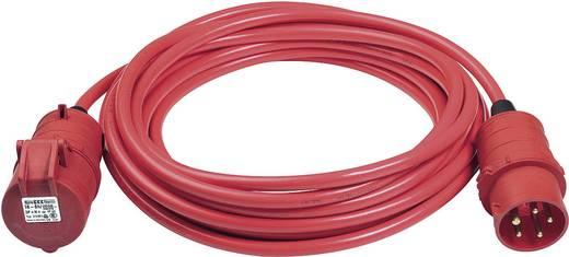 Erősáramú hálózati hosszabbítókábel védőkupakkal, piros, 25 m, XYMM 5G 1,5 mm², Brennenstuhl 1168590 CEE