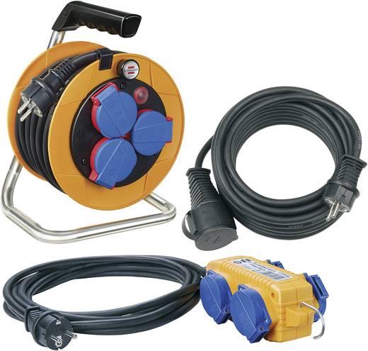 Kábeldob és hosszabbító készlet, 5 m/10 m/10 m, H07RN-F 3 G 1,5 mm², 230V, Brennenstuhl 1070150