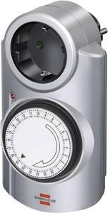 Brennenstuhl mechanikus napi időkapcsoló óra konnektorba, 3680W, min. 15 perc, 1506530 Brennenstuhl