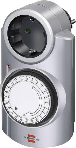 Brennenstuhl mechanikus napi időkapcsoló óra konnektorba, 3680W, min. 15 perc, 1506530