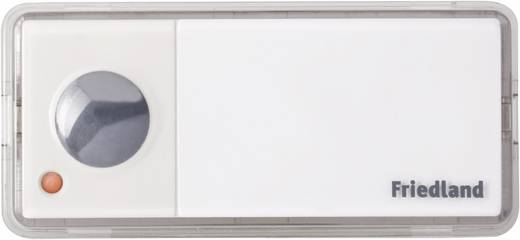 Vezeték nélküli ajtócsengő, 200 m, 433 MHz, ezüst/antracit, Friedland 551103