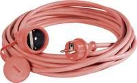 Kültéri, gumi hálózati hosszabbítókábel védőkupakkal, piros, 10 m, H07RN-F 3G 1,5 mm², SIROX 346.310.04 (346.310.04) SIROX