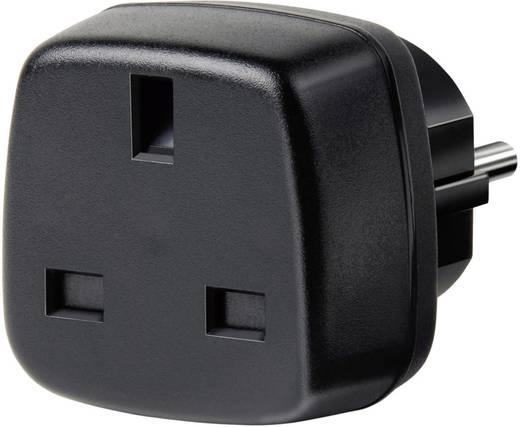 Magyar / angol konnektor átalakító adapter, fekete, Brennenstuhl 1508530