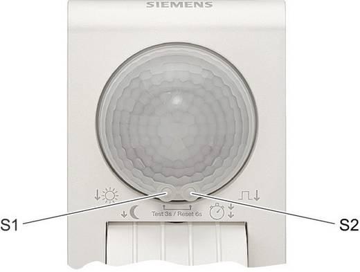 Fali/mennyezeti mozgásérzékelő távirányítóval, fehér, 290°, IP55, relés, Siemens 5TC7214