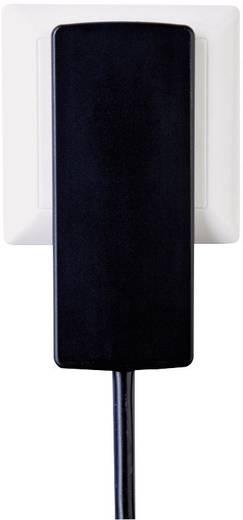 Lapos szerelhető hálózati dugalj, fehér, Schulte Elektrotechnik EVOLINE