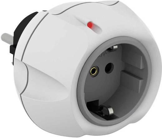 Konnektorba dugható túlfeszültségvédős dugalj, fehér, 5 kA, Vario Solo, Ehmann 0460c0500