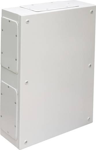 Falra szerelhető műszerház, acéllemez, 200 x 150 x 95 mm, szürke, IDE 26001