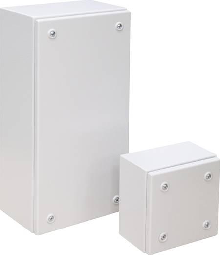 Falra szerelhető műszerház, acéllemez, 300 x 200 x 135 mm, szürke, IDE 26105