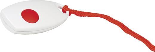 Vészjeladó vezeték nélküli csengőhöz, 100 m, 433 MHz, fehér/piros, HX Mini, Heidemann 70370