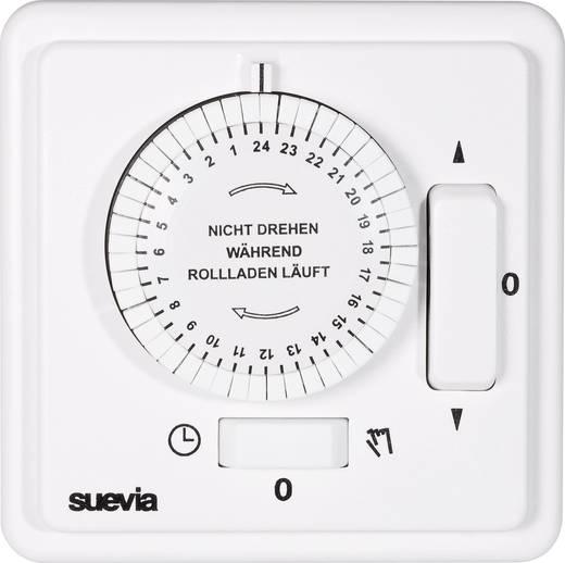 Suevia mechanikus napi rolófelhúzó időkapcsoló óra, falba süllyeszthető, 2200W, min. 30 perc, 248.216