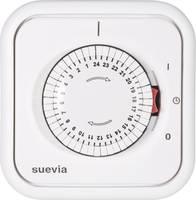 Suevia mechanikus napi időkapcsoló óra, falba süllyeszthető, 2200W, min. 30 perc, 348.002 (348.002) Suevia
